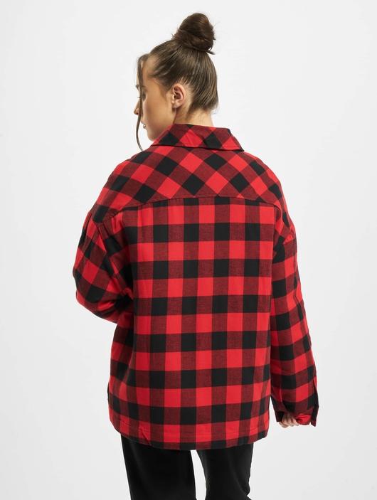 Urban Classics Ladies Flanell Padded Overshirt  Lightweight Jackets image number 1