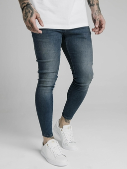 Sik Silk Straight Fit Jeans Midstone