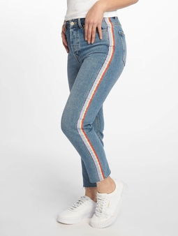 Only onlEmily High Waist Straight Rib Jeans