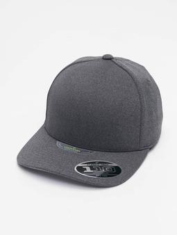 Flexfit 110 Melange Unipanel Snapback Cap Darkgrey