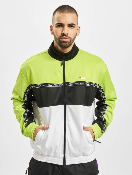 Fila Urban Line Hachiro Track Jacket Acid Lime/Black/Bright White image number 2