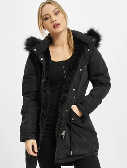 Urban Classics Ladies Faux Fur Parka