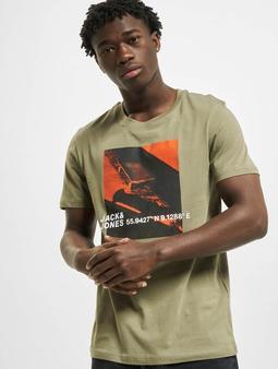 Jack & Jones jcoJump T-Shirt Deep Lichen Green/Slim