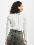 Missguided Baby Tribal Graphic Longsleeve Crop Top White image number 2