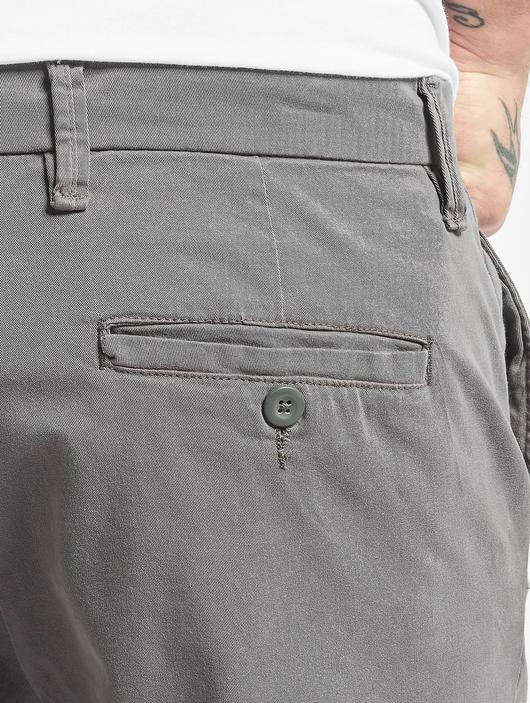 Urban Classics Stretch Turnup Chino Shorts Dark Olive image number 4