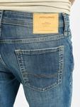 Jack & Jones jjiLiam Jjoriginal Agi 005 Skinny Jeans Blue Denim image number 4