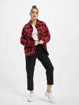 Urban Classics Ladies Flanell Padded Overshirt  Lightweight Jackets image number 6