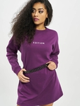 Missguided Oversized Sweater Edition Longsleeve Dress Purple image number 0
