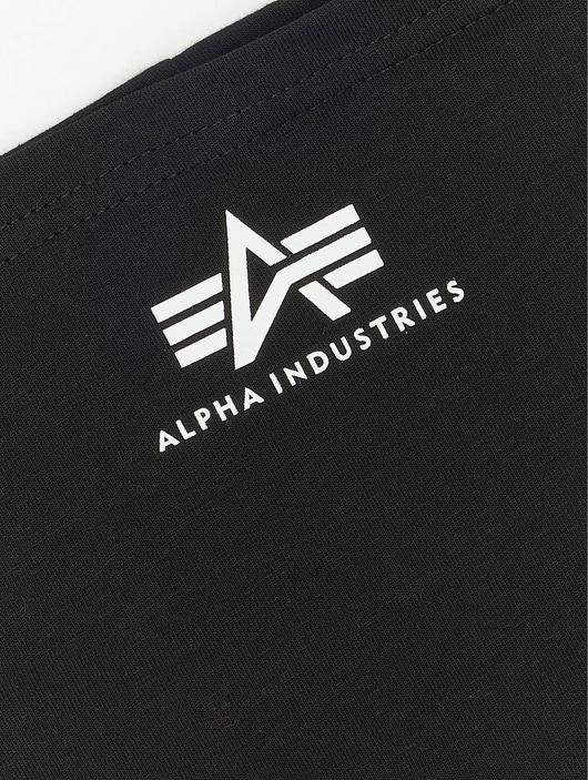 Alpha Industries Basic Tube Mask Black/White image number 4