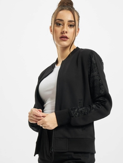 Urban Classics Ladies Lace Bomber Jacket