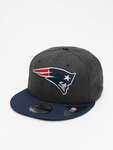 New Era NFL New England Patriots Heather Crown 9Fifty Snapback Caps image number 0