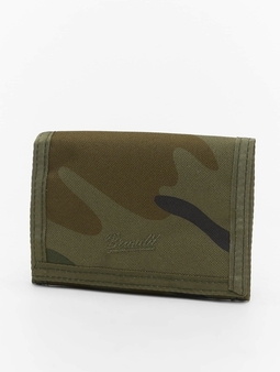 Brandit Three Wallet Woodland