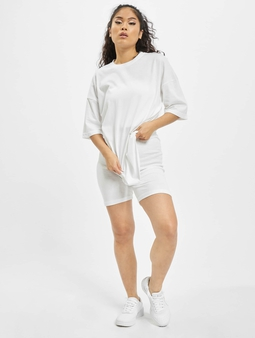 Missguided Coord Tshirt & Cycling Short Set
