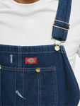 Dickies Bib Overall Pants Washed Indigo (W 42  L 32 blue) image number 4
