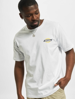Dickies Ruston  T-skjorter hvit
