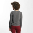 Only onlLotus O-Neck Sweatshirt Dark Grey Melange image number 1