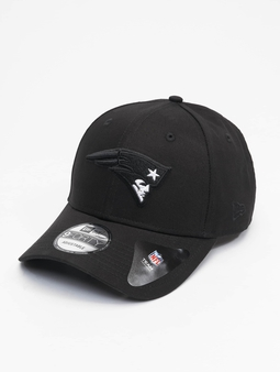 New Era Nfl Properties New England Patriots Black Base 9forty Snapback Cap Black