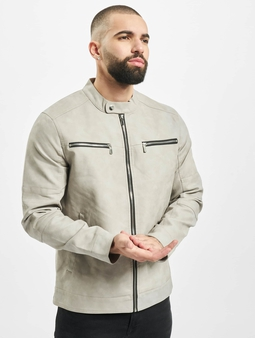 Only & Sons onsFavour Jupiter Pu Coat Cloud