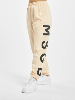 Missguided Petite Msgd Sweat Pants Pink