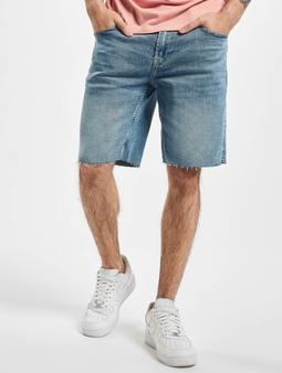 Only & Sons onsPly Raw Hem Zip Shorts blå