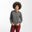 Only onlLotus O-Neck Sweatshirt Dark Grey Melange image number 0