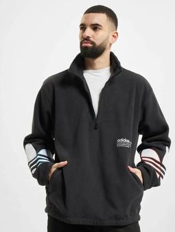 adidas Originals Tricolor Half Zip Gensre svart