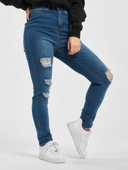 Missguided Mg X Assets Distress Sinner Skinny Jeans
