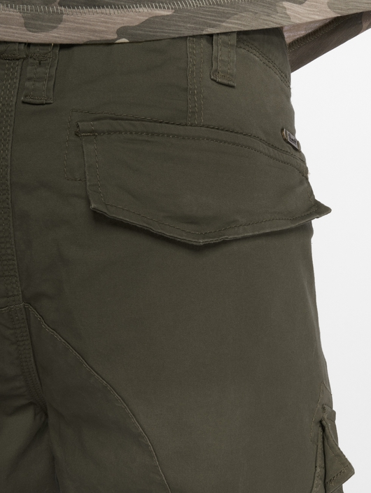 Brandit Adven Slim Fit Men Cargo Pants Olive image number 4