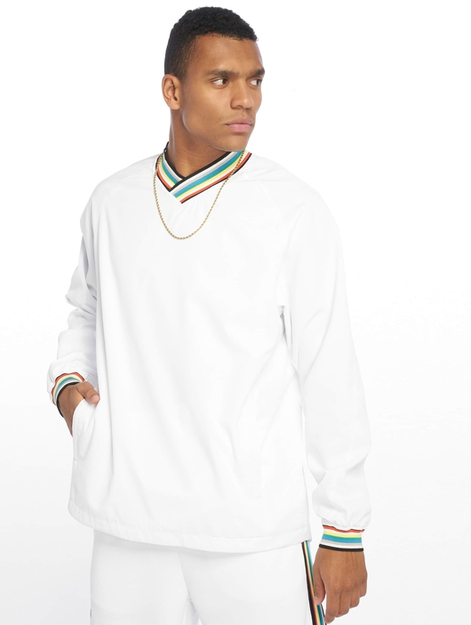Urban Classics Warm Up Sweatshirt Black/Grey image number 0