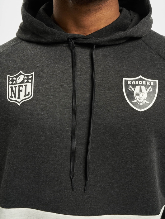 New Era NFL Oakland Raiders Colour Block Hoodies image number 3
