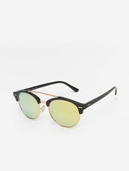 MSTRDS Sunglasses Black/Yellowgold