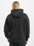 Nike Club Hoodie Full Zip Black/Black/White image number 1