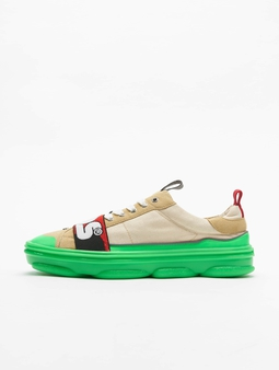 GCDS Sneakers Green Fluo