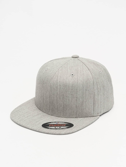 Flexfit Flat Visor Cap Heather