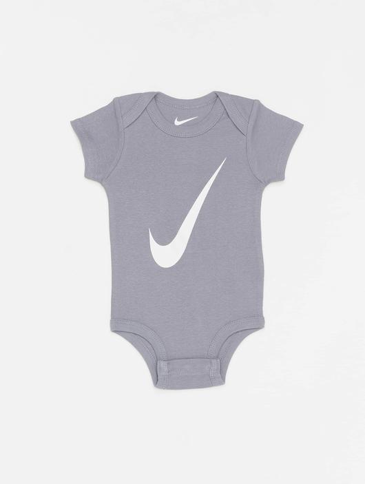 Nike Swoosh S/S Bodysuit 3 Pack Pink Nebula image number 5