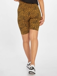 Urban Classics High Waist Cycle Shorts Natural Leo image number 1