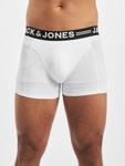 Jack & Jones Sense 3-Pack Noos Trunks Black/Detail Black Waistband image number 1