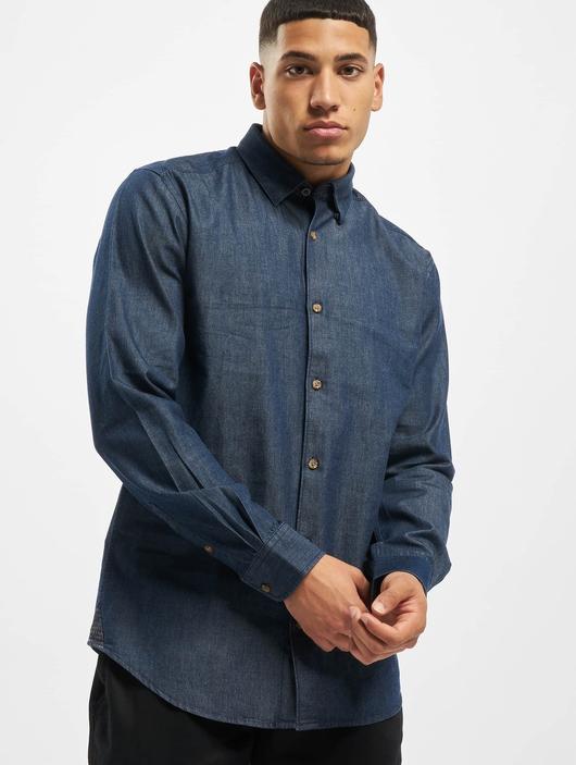 Only & Sons onsAsk Shirt Dark Blue Denim image number 0