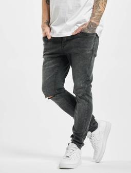 Urban Classics Slim Fit Jeans Black Washed