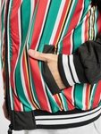 Southpole Stripe College College Jackets image number 3