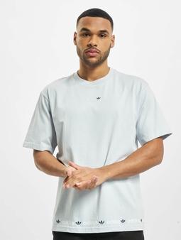 adidas Originals Linear Repeat T-skjorter blå