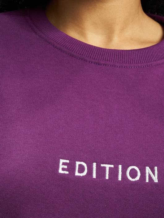 Missguided Oversized Sweater Edition Longsleeve Dress Purple image number 3