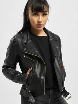 Only onlWilma Faux Leather Jacket