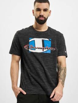 Champion Legacy T-Shirt Grigio/Melange Tinto Filo/Scuro
