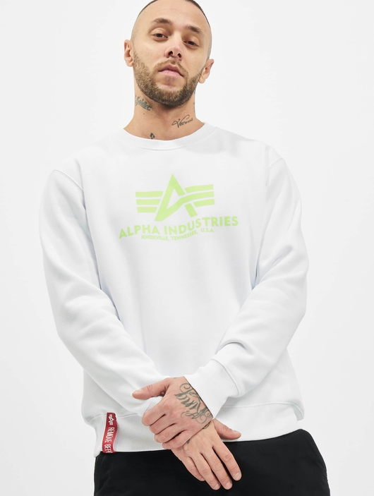 Alpha Industries Basic Neon Print Pullover image number 0
