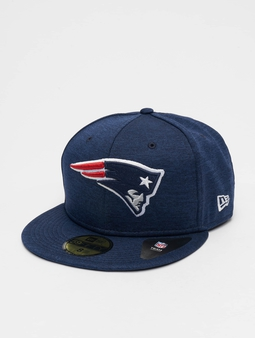 New Era Shadow Tech New England Patriots 59Fifty Fitted Cap Oceanside Blue/Official Team Color