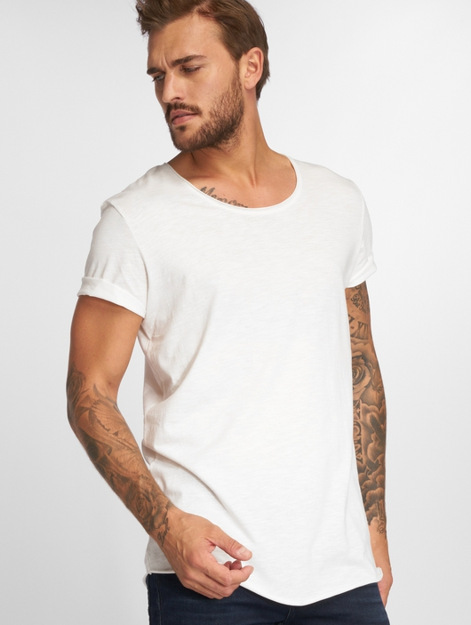 Jack & Jones jjeBas Shortsleeve U-Neck Noos T-Shirt Blue Heaven image number 0