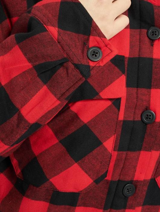 Urban Classics Ladies Flanell Padded Overshirt  Lightweight Jackets image number 4