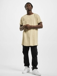 Urban Classics Long Shaped Turnup T-Shirt Grey image number 4
