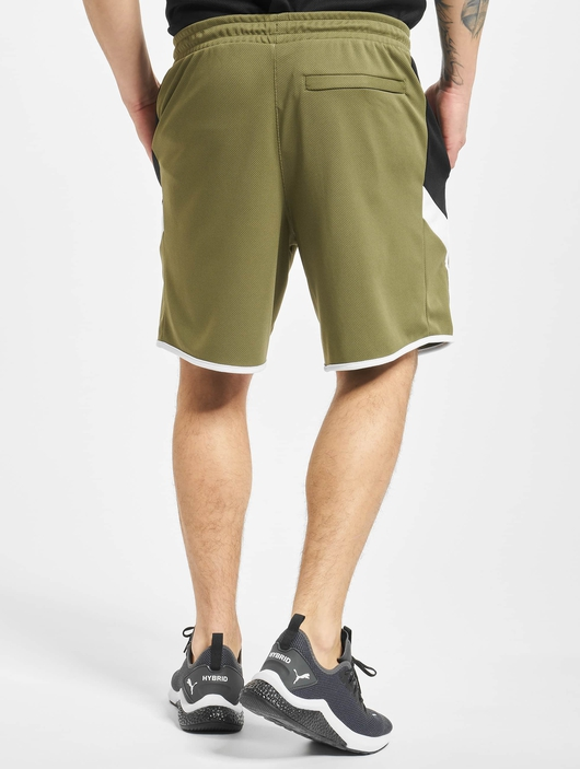 Puma Iconic MCS 8` Shorts Burnt Olive image number 1